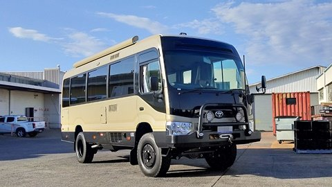 Bus 4×4 Motorhome Delivery!