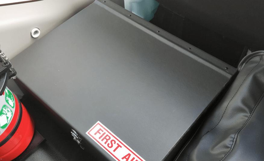 Bus 4×4 Mine Spec Conversion of Coaster