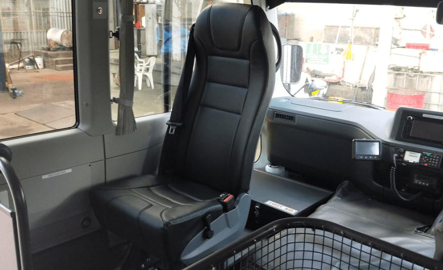 Bus 4×4 Tour Spec Conversion of Coaster