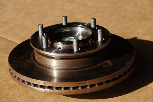Wheel Bearing Assembly with Rotor