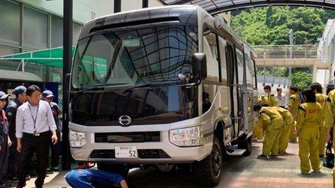 Bus 4×4 in Japan