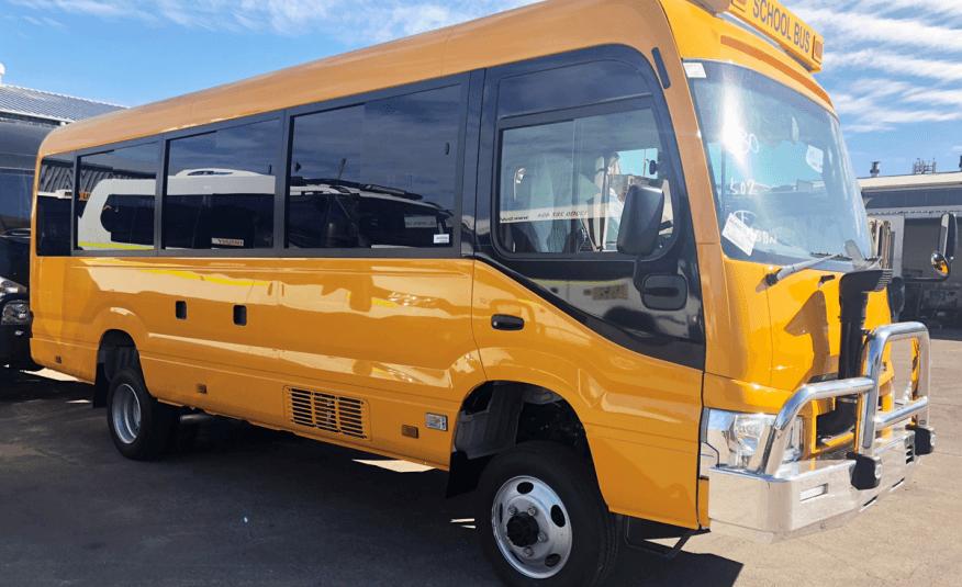 Bus 4×4 2WD Conversion of Coaster