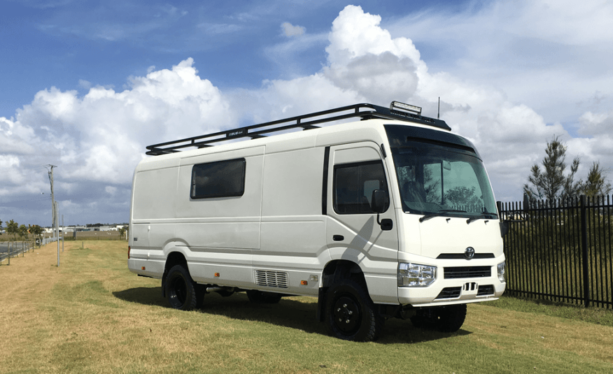 Motorhome Conversion of Coaster
