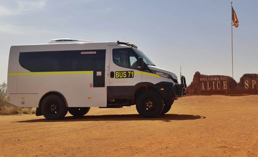 Bus 4×4 Iveco Daily 4×4 Mine Bus