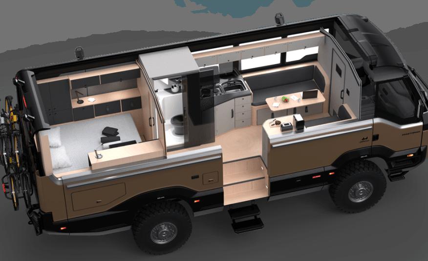 Torsus Praetorian 4WD Motorhome