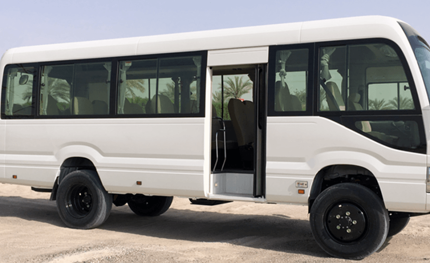 Bus 4×4 Conversion of LHD Coaster