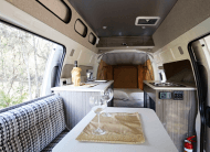 Bus 4×4 Conversion of Campervan