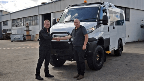New Iveco Daily 4×4 School Bus Delivery!