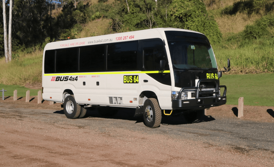 Bus 4×4 Conversion of Coaster Bus