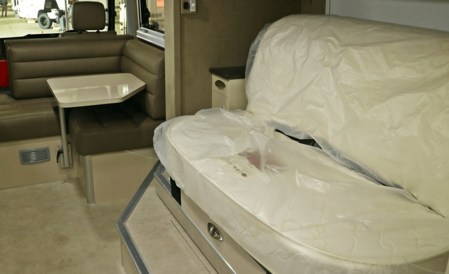 Slide-Out Motorhome Conversion of Coaster