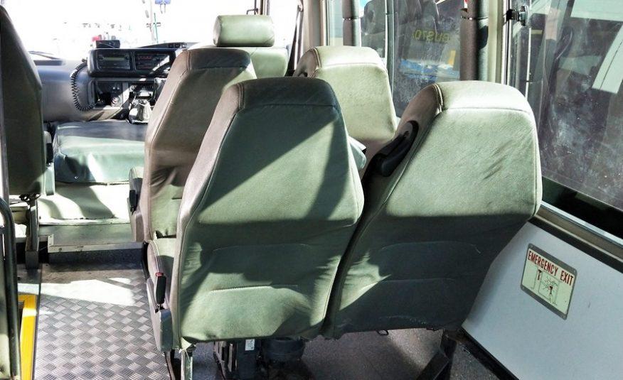 4×4 Conversion of Toyota Coaster