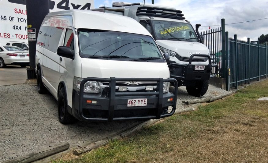 AWD Conversion of Toyota Commuter