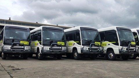 Bus 4×4 Hire