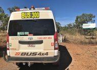 Bus 4×4 Mine Spec Conversion of Commuter