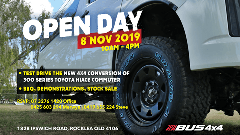 Bus 4×4 Open Day