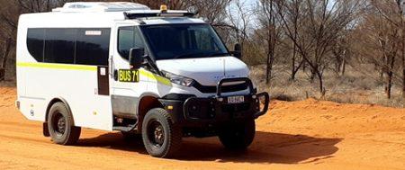 Bus 4×4 Central Australia Road Trip
