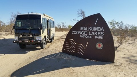 First trip in our Toyota Coaster 4×4 Motorhome