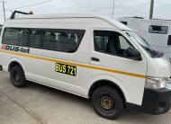 Bus 4×4 Conversion of Hiace Commuter