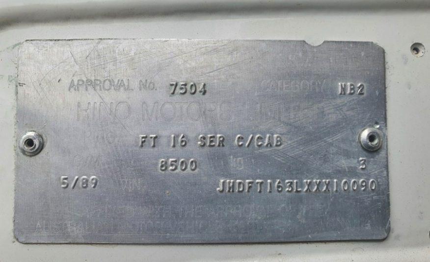 Hino FT 4×4 Motorhome