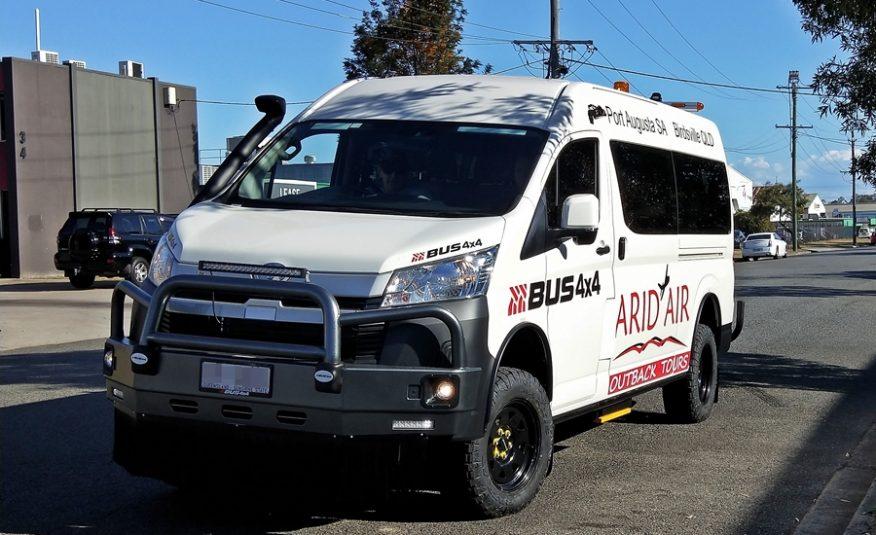 Bus 4×4 Tour Spec Conversion of Commuter