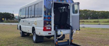 Wheelchair Conversion of Bus 4×4 Coaster